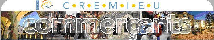 Les commerçants de Crémieu